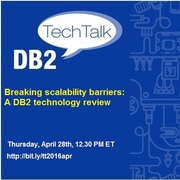 April DB2 Tech-Talk : DB2 11.1 - A Technology Overview