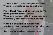 Trump on Socialism Small