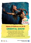Oriental Show @ El Filò. 1 territorio, 1000 racconti