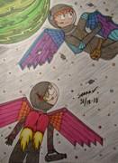 Wings in space...
