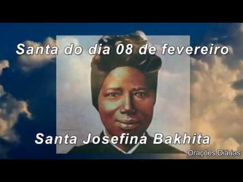SANTA JOSEFINA BAKHITA - 08 de fevereiro
