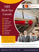 H&R Block Fees Canada