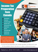 Income Tax Preparation Fees Canada