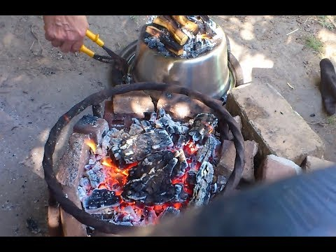 CAMPFIRE PIZZA - Lightweight Oven
