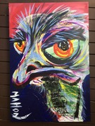 Pensive Emu