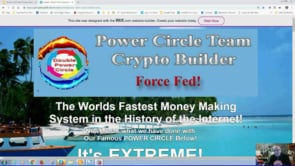 Crypto Builder, Force Fed, Self Building by the Power Circle Team Webinar Replay 6th Feb 2019