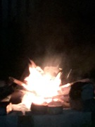 Can't have a nice fire without a pesky spirit appearing