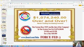 People Helping People Worldwide Force Fed Self Building, Auto PHPW System Webinar Replay 5th Feb 20…