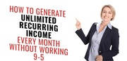 Generate Recurring Residual Income