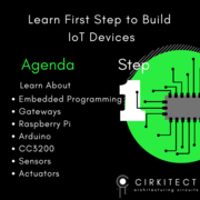 Cirkitect: Embedded Systems in IoT Webinar