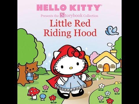 อ่านหนังสือภาษาอังกฤษเรื่อง หนูน้อยหมวกแดง Hello Kitty Little Red Riding Hood