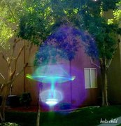 Transparent violet flame/Un nuevo mundo en manifestacion