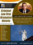 Criminal Law Firm Brampton Ontario