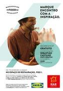 SHOWCOOKING: Sebastião convida a comer tudo, tudo, tudo