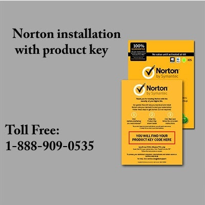 Norton installation with product key