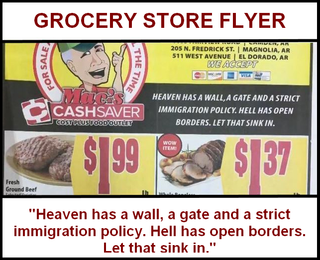 Grocery Store Flyer