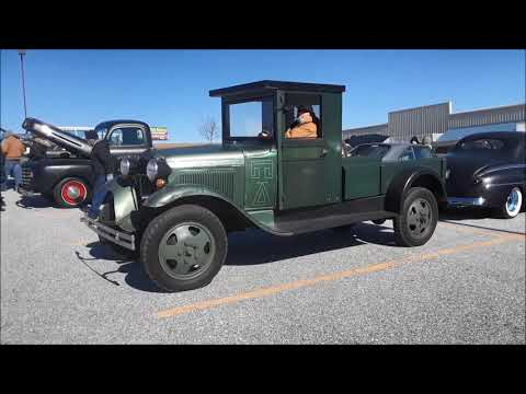 Grandpa's 1930 Ford AA 1 1/ 2 Ton At the 2019 Motor Mentors Winter Beater Cruise