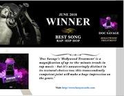 Award Winning song Hollywood Treatment