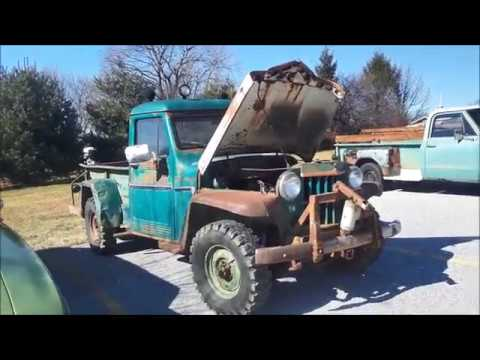 Check Out This Work Horse 1962 Willys Jeep Truck