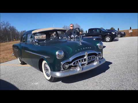 A 1951 Packard 300 Rolls Into the 2019 Motor Menders Winter Beater Cruise