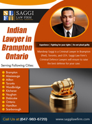 Indian Lawyer in Brampton Ontario