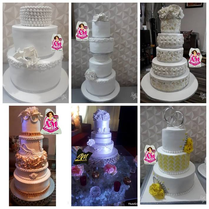 Wedding  & Birthday Cake