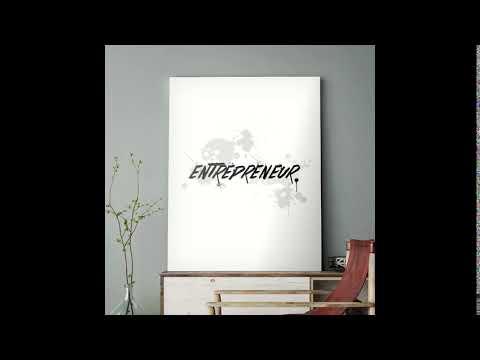 Entrepreneur - Motivational Canvas Wall Art
