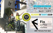 Belvedere Bike is in Town - Fix Coffee + Bikes - Feb 28th 2019 - 6PM - PLEASE RSVP