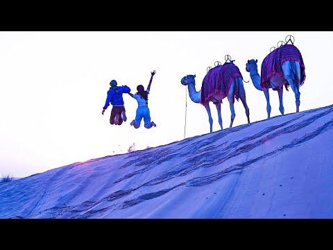 sunrise desert safari
