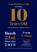 10th Anniversary Event   Evening Details TBC