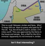 wall in Jordan