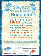 Startup Weekend Honolulu!