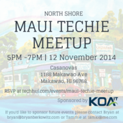 Maui Techie Meetup