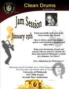 Clean Drums Jam Session!