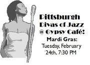 Pittsburgh Divas of Jazz Mardi Gras at Gypsy Cafe