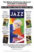 Jazz Film Series at Penn Hills Library