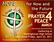 HOM 2nd Annual Prayer 4 Peace March