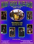 Muddy Kreek Blues Band @ Warehouse Cafe