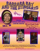 Barbara Ray and the StingRays @ West End Cafe