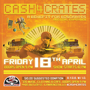 Cash 4 Crates: A Benefit for DJ Buscrates