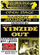 Yinzide Out open stage at RUMERZ Bar w/the Iglars