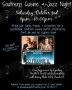 Southern Cuisine & Jazz Night @ Rivers Club