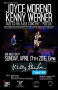 JOYCE MORENO/KENNY WERNER DUO CD RELEASE PARTY: POESIA
