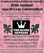 20th Annual Mardi Gras Celebration with the Blues Orphans