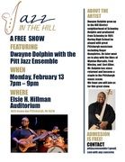 Dwayne Dolphin featured with the Pitt Jazz Ensemble