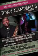 James St. Saturday Afternoon Jazzsurgery Session w/ Tony Campbell