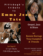 Wallace Whiskey Room Saturday Jazz Featuring Ronnie Burrage w/ Tony Campbell