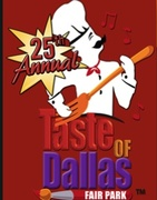 25th Annual Taste of Dallas at Fair Park