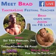 Meet Brad at the TantraLove Festival UK 2019