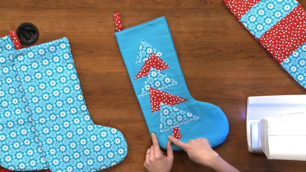 Watch How to Sew a Pretty Yet Simple Christmas Stocking